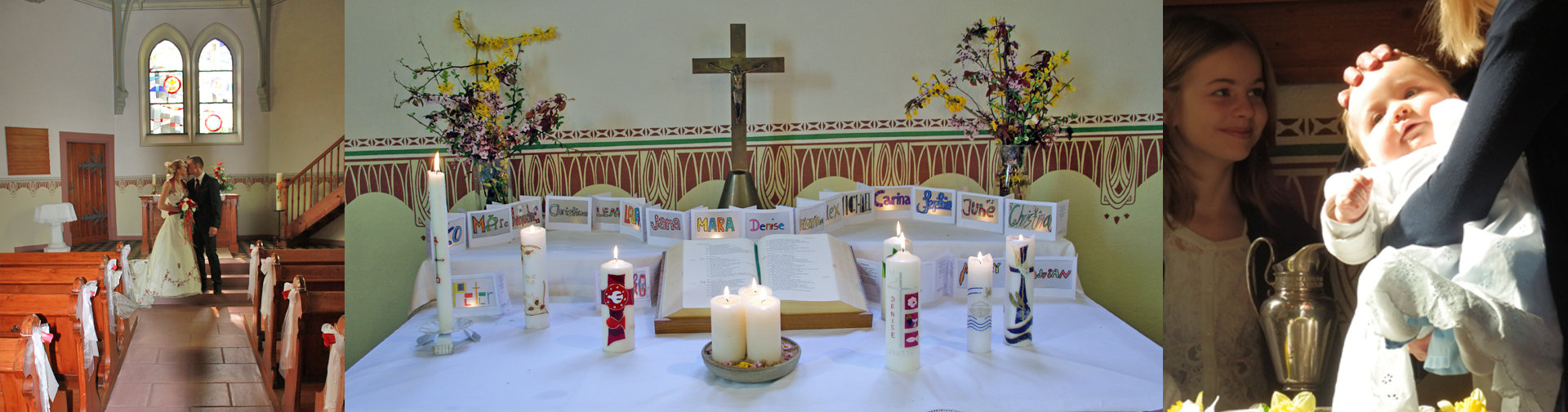 Unser Kind soll getauft werden / Quelle: Evangelische Kirchengemeinden Riegel und Endingen